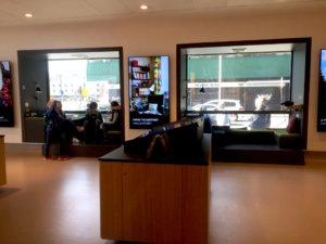 コペンハーゲン観光案内所,観光案内所窓,ラディソンSASホテル
