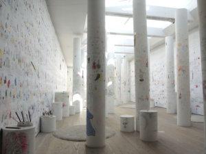 コペンハーゲン,美術館,展示,ムーミン,北欧,トーベヤンソン