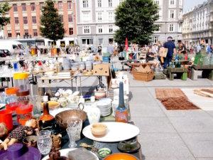 コペンハーゲン,蚤の市,イスラエル広場,北欧アンティーク,北欧雑貨,北欧ヴィンテージ